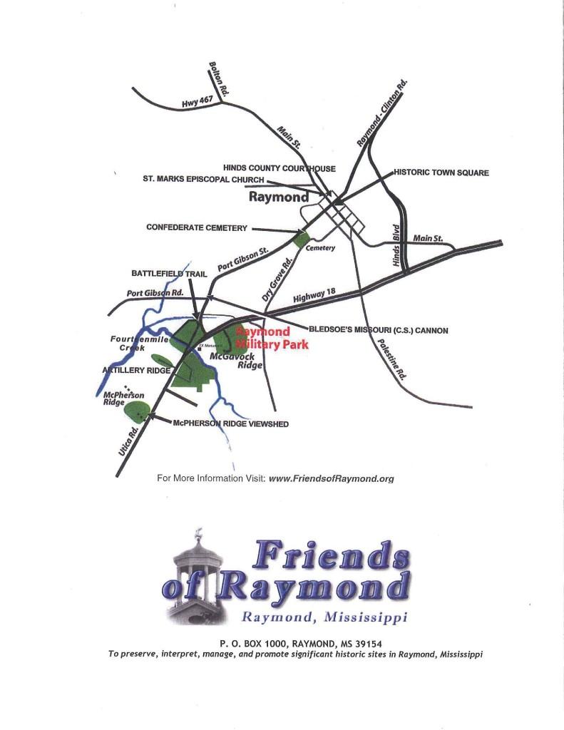 battlefield trail map